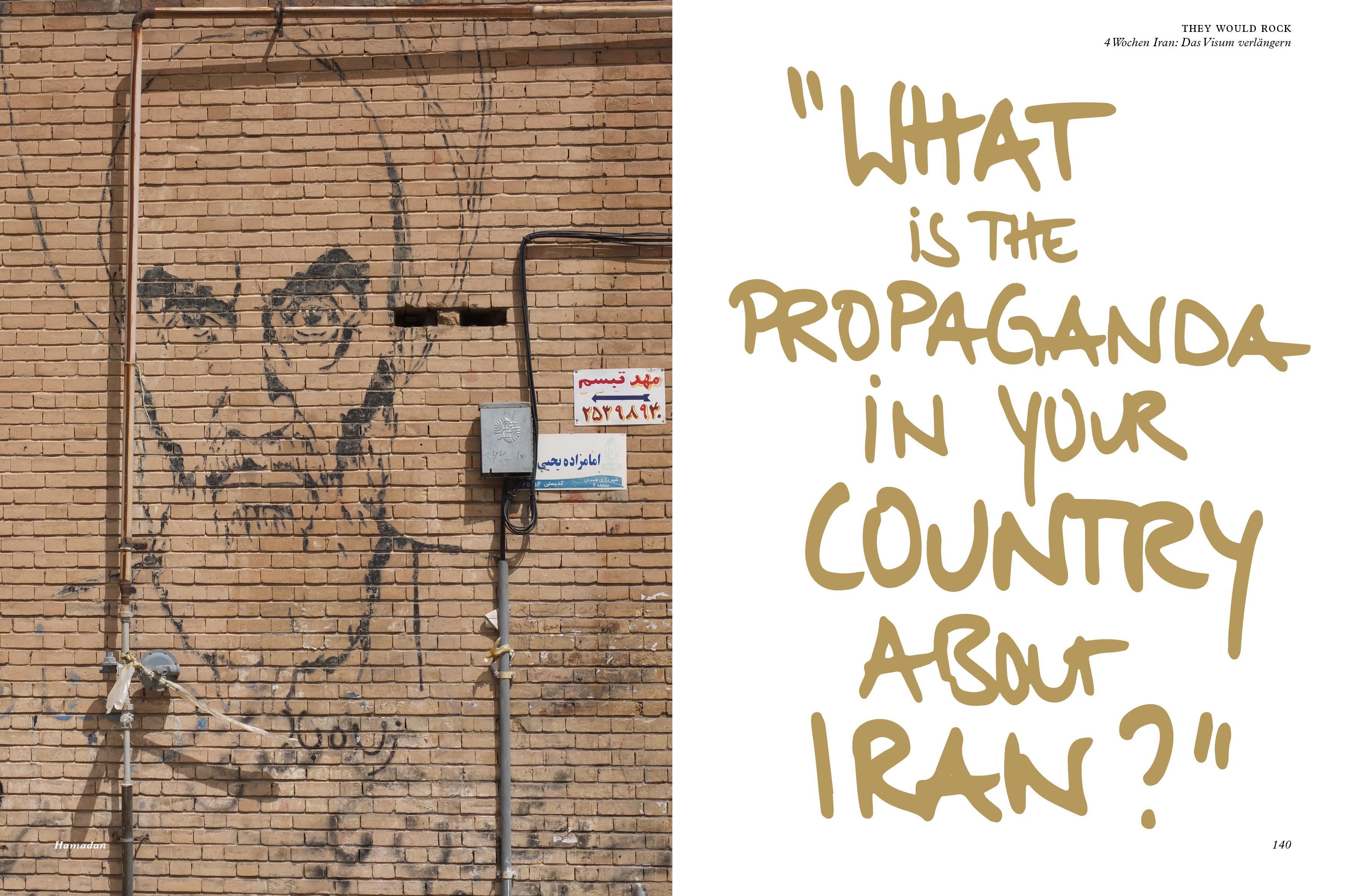 4 Wochen Iran: Das Visum verlängern