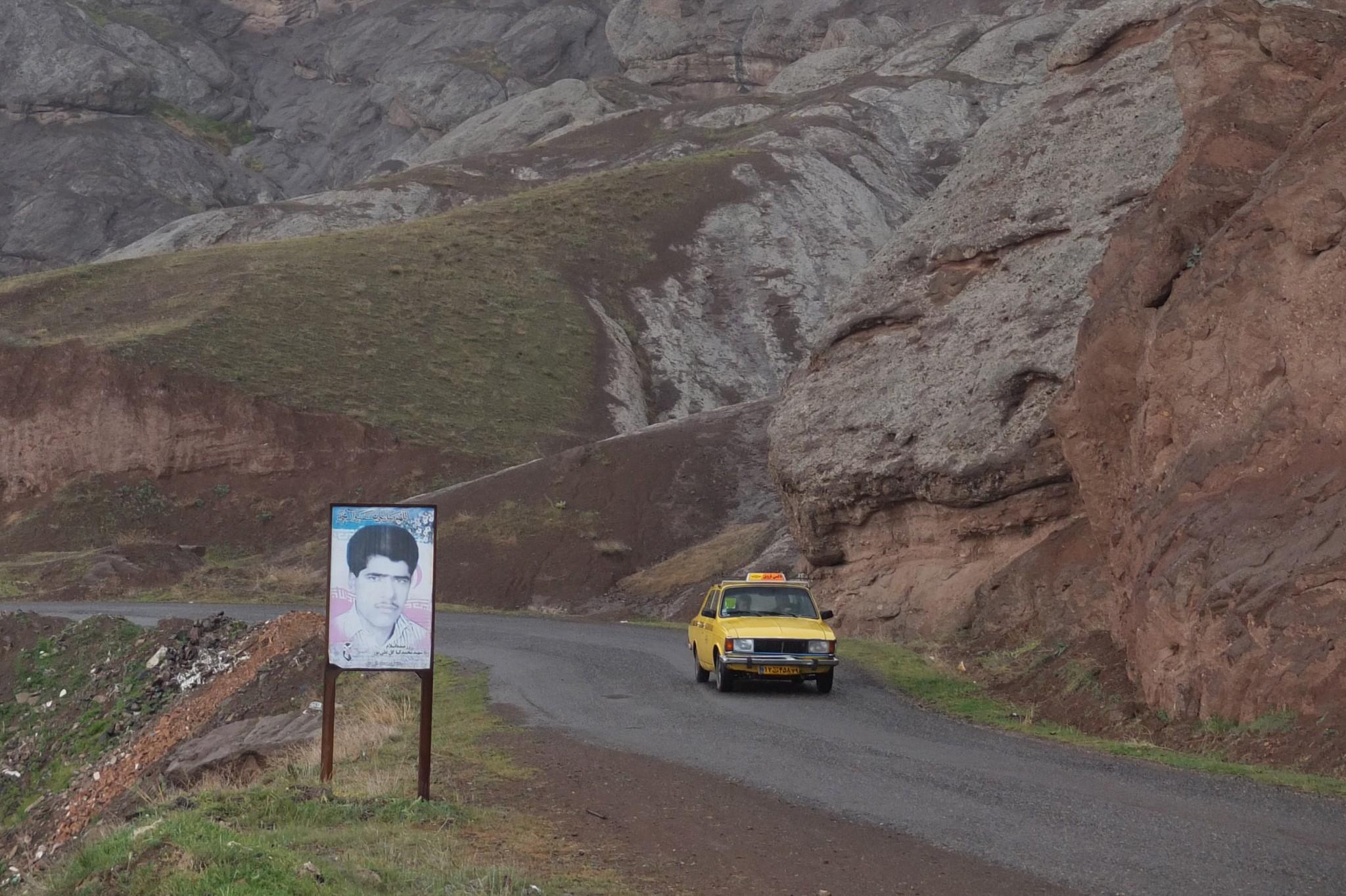 7,5 Wochen Iran: Im Sammeltaxi
